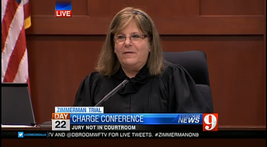 Zimmerman Trial: The Jury Instructions