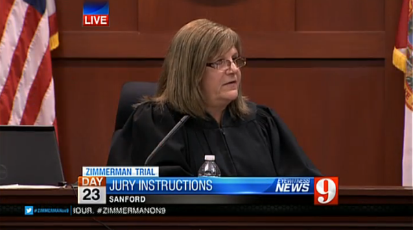 Zimmerman Trial: Jury Charge and Verdict Watch LIVE