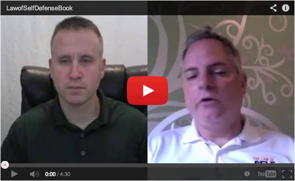 Andrew Branca Interviewed by Glen Evans of Warrior Men blog (Part 1)