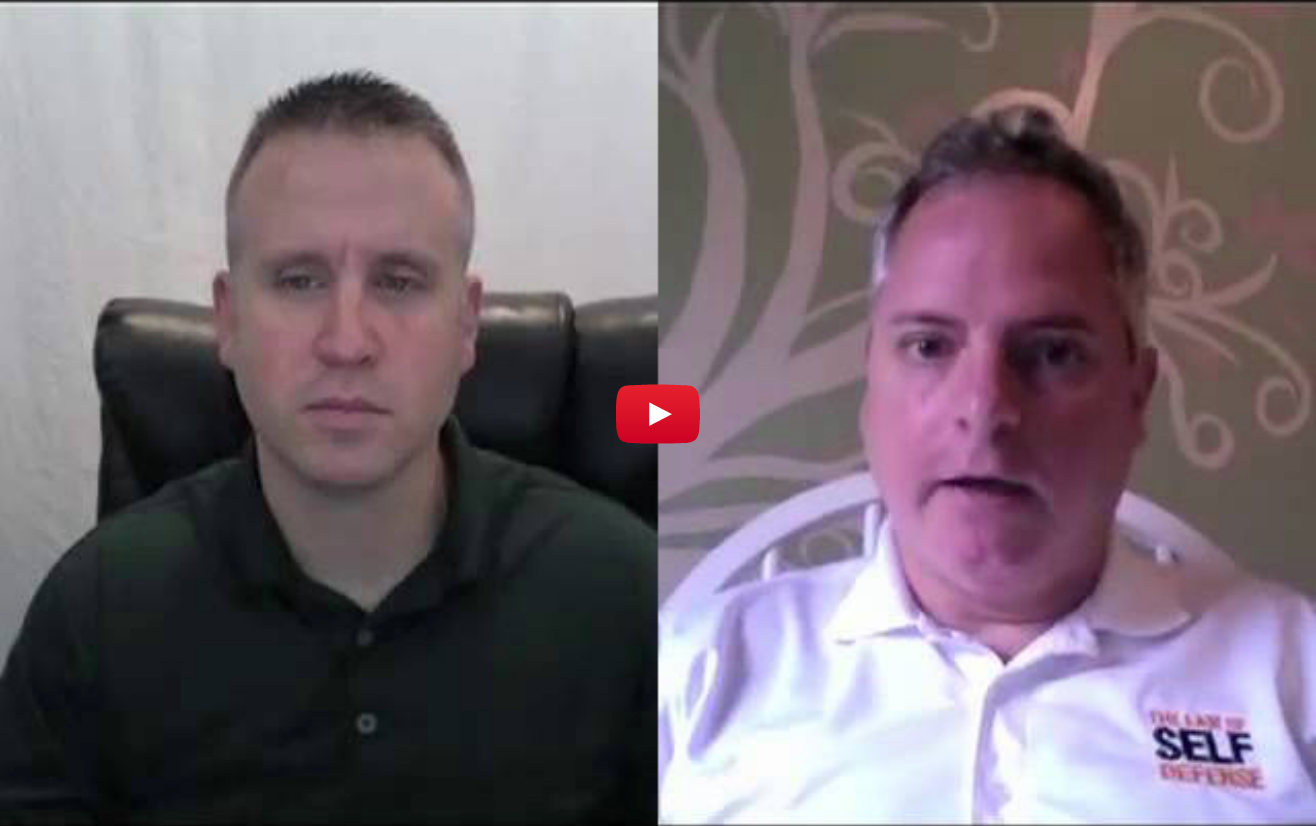 "VIDEO: ""The Value of Tactical Retreat to a Legally-Sound Self-Defense Strategy"""