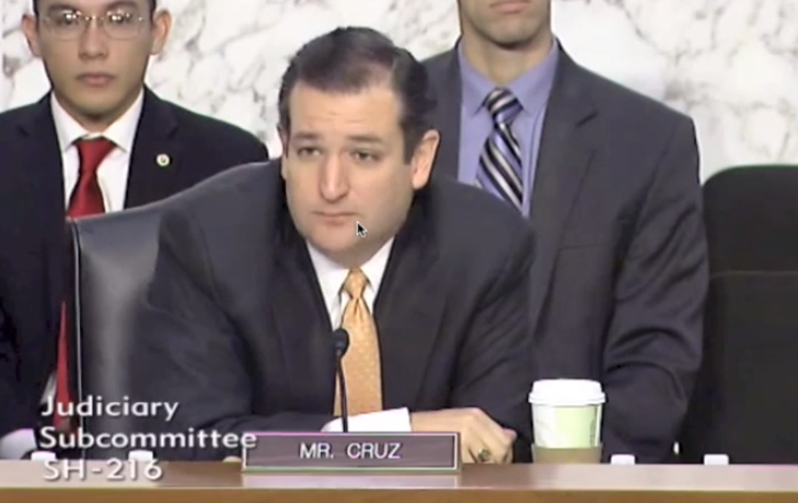 VIDEO:  US Senate Stand-Your Ground Hearings, Senator Cruz, Follow-Up (10/29/13)