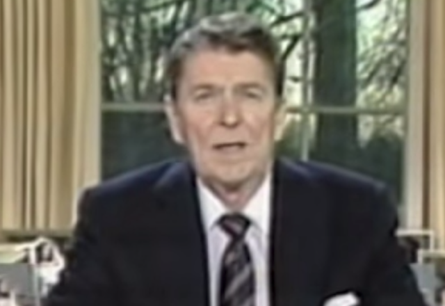 SPEECH: Ronald Reagan Challenger Speech: 30 Years Ago Today