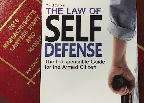 "SHIPPING! ""The Law of Self Defense, 3rd Edition"""