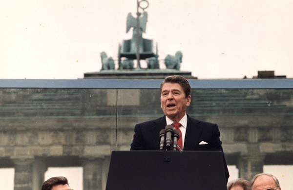 "SPEECH: Reagan ""Mr. Gorbachev, Tear Down This Wall!"""