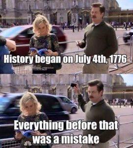 July 4 mistake