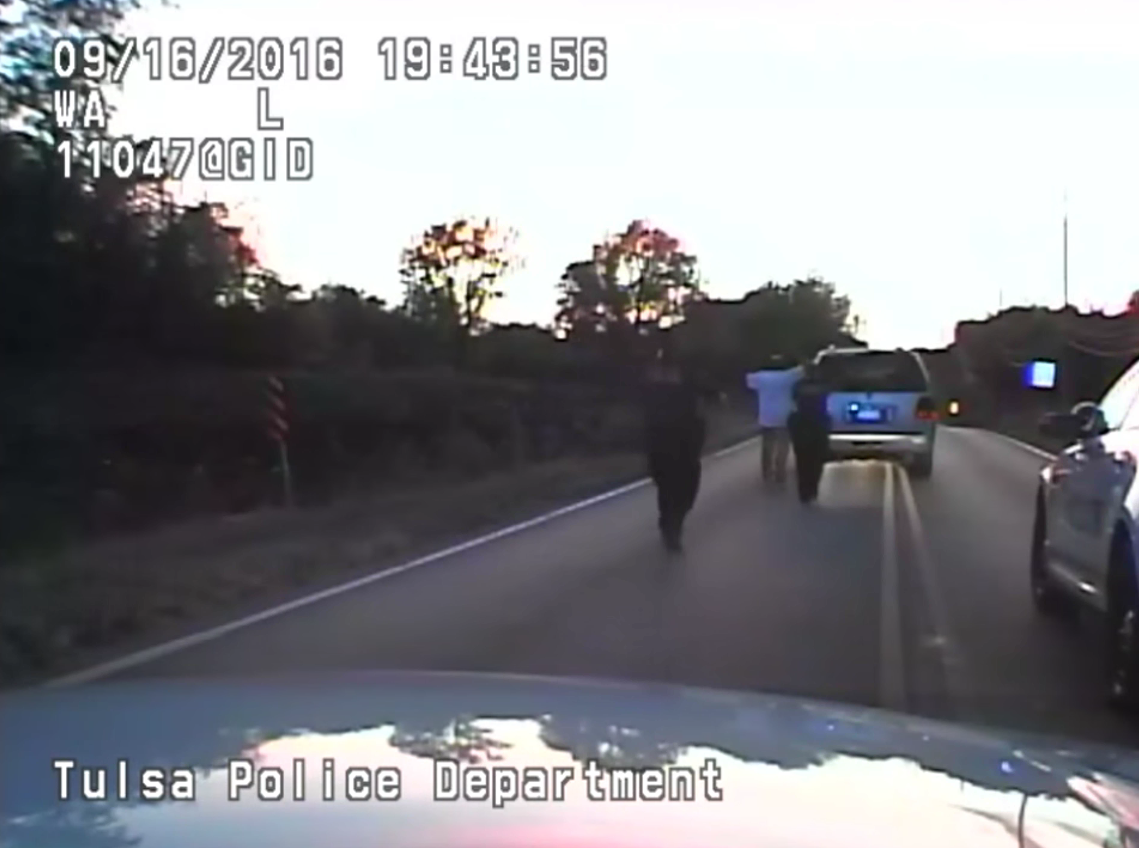 "LI: Officer shot Terence Crutcher: ""if he would've just done as I asked him"""