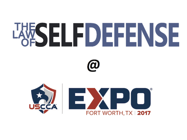 Law of Self Defense @ USCCA Expo